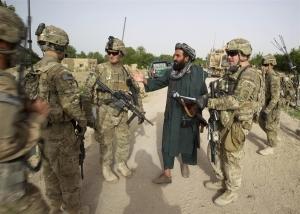 Militer Amerika di Afghanistan (sumber : photoblog.nbcnews.com)