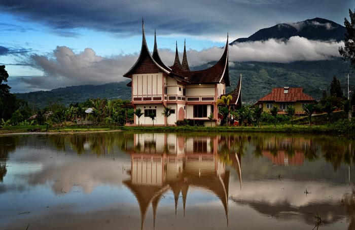 1010+ Gambar Pemandangan Rumah Adat Minang Terbaik