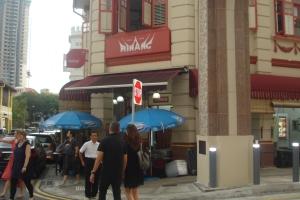 Restoran Minang di Kampong Glam, Singapura