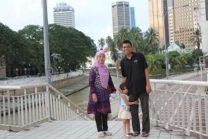 Mesjid Jamek di pertemuan Sungai Klang dan Sungai Gombak