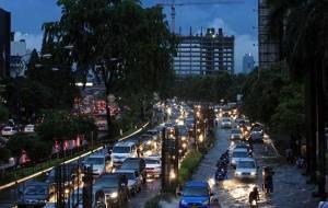 Kemacetan di Jalan Rasuna Said (sumber : mediaindonesia.com)