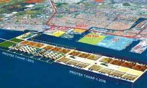 Rencana The New Tanjung Priok (sumber : detik.com)