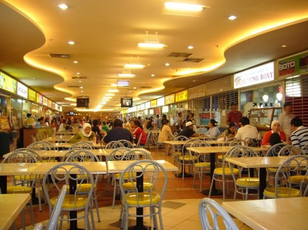 Food court di Mal Ambassador