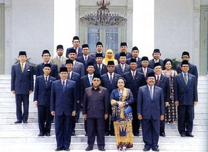 Kabinet Abdurrahman Wahid (sumber : wikipedia.org)