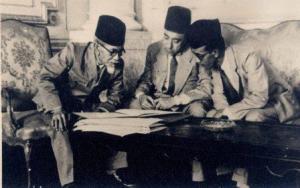 Agus Salim mencari dukungan kedaulatan Indonesia di Mesir (sumber : wikipedia.org)