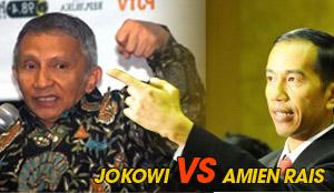 Jokowi vs Amien (sumber : bisnis-jabar.com)