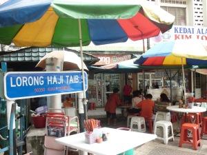 Haji Mohamed Taib namanya diabadikan menjadi salah satu nama Jalan di Kuala Lumpur (sumber : ffdoubles.blogspot.com)