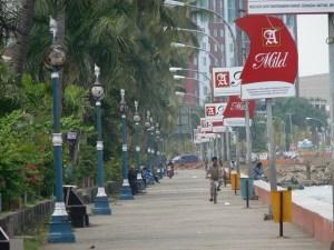 Pedestrian di Pantai Losari