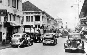 Jalan Braga pada masa kolonial