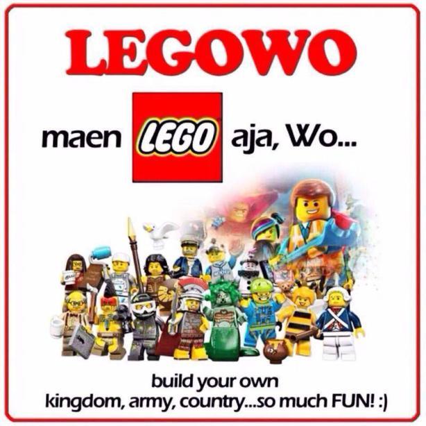 Prabowo diminta legowo dengan bermain Lego