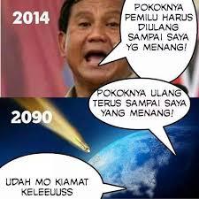 Prabowo Harus Menang