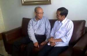 Buya Syafii Maarif mendukung Jokowi (sumber : tempo.co)