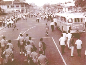 Kerusuhan 1964 di Singapura (sumber : mha.gov.sg)