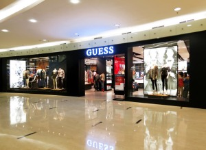 Guess di Senayan City