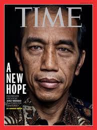 Majalah Time bersampul Presiden Jokowi