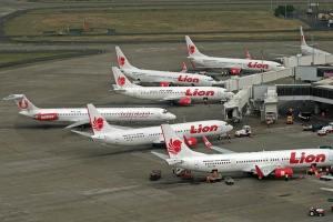 Lion Air di Soekarno Hatta, Jakarta (sumber : beritatrans.com)