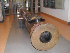 Salah satu meriam Aceh pemberian sultan Turki Utsmani (sumber : www.peradabandunia.com)