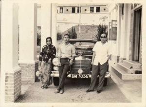 Syed Hamid dan Syed Ja'far Albar (sumber : http://syedhamidalbar44.blogspot.com)