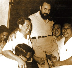 Syed Hussein Alatas diangkat oleh para sejawatnya di Partai Gerakan Rakyat Malaysia (sumber : en.wikipedia.org)