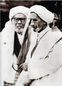 Habib Ali Kwitang (kiri)