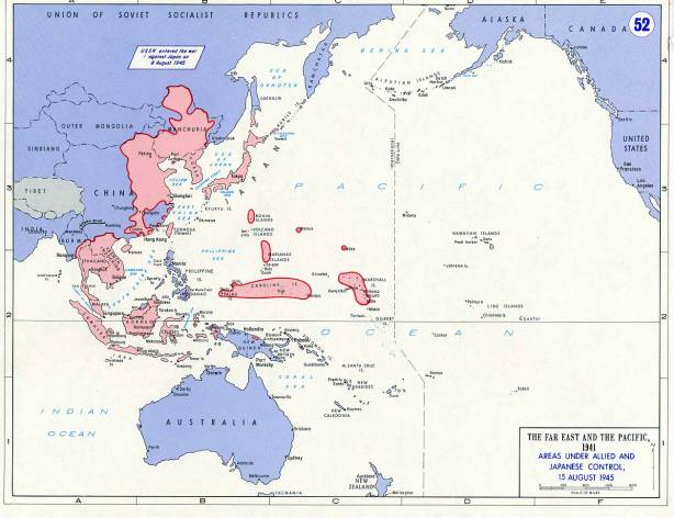 Imperium Jepang periode 1942-1945 (sumber : http://edsitement.neh.gov)