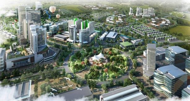 Masterplan CBD Kota Jababeka