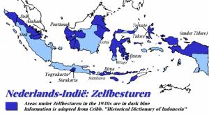 Wilayah-wilayah yang berdaulat di tahun 1930