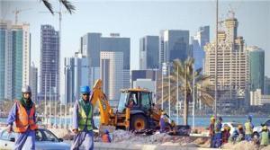 Imigran Asal India Mengerjakan Proyek Infrastruktur di Qatar