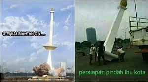 Meme Pindah Ibu Kota