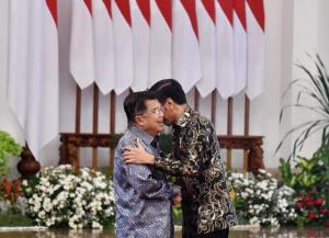Jokowi dan JK Salam Perpisahan
